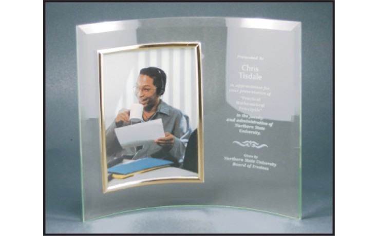 10 X 12 Jade Glass Crescent With Frame Crescent Frames Gifts