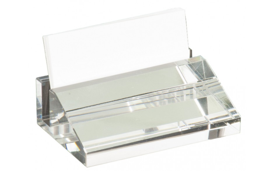 Crystal Business Card Holder - Gifts - Lake Superior Glass - Glass