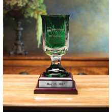 Martin Emerald Trophy (with base)