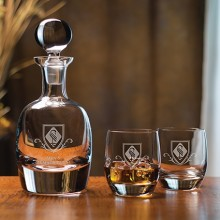 Barrel Decanter Set (5-Piece)