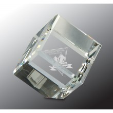 3 in. Crystal Cube