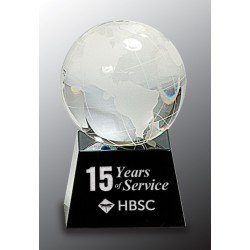 3 1/8 in. Crystal Globe